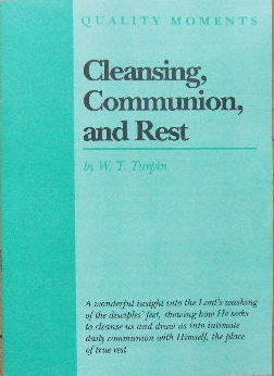 Image for Cleansing, Communion and Rest  (Quality Moments series)