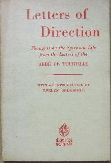 Image for Letters of Direction  Thoughts on the spiritual life from the letters of Abbe de Tourville