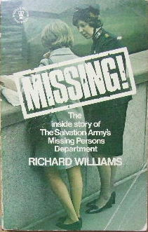 Image for Missing  The inside story of the Salvation Army's Missing Persons Department