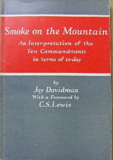 Image for Smoke on the Mountain  An interpretation of The Ten Commandments in Terms of Today