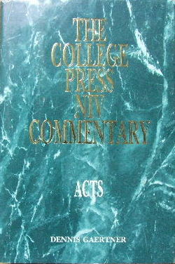 Image for Acts  (The College Press NIV Commentary)