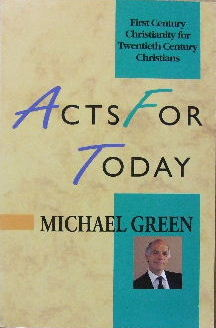 Image for Acts for Today  First century Christianity for twentieth century Christians