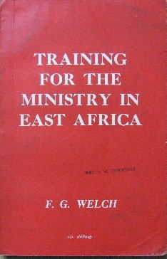 Image for Training for the Ministry in East Africa.