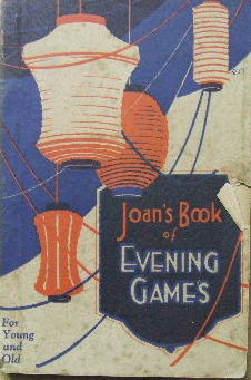 Image for Joan's Book of Evening Games.