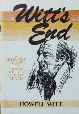 Image for Witt's End   A Humorous Look at Life Through the Eyes of a Man of God