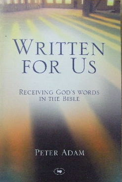 Image for Written for Us  Receiving God's words in the Bible