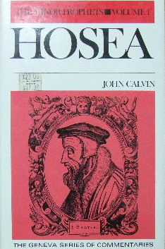 Image for Commentaries on the Twelve Minor Prophets Volume 1 Hosea.