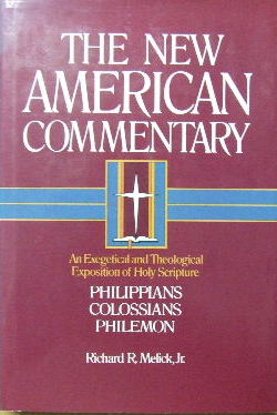 Image for Philippians, Colossians, Philemon  (The New American Commentary Volume 32)