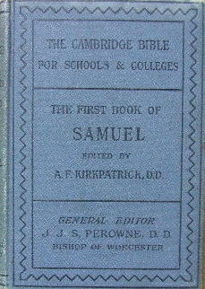 Image for The First Book of Samuel.