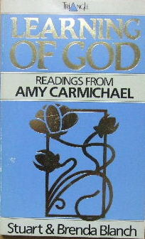 Image for Learning of God  Readings from Amy Carmichael