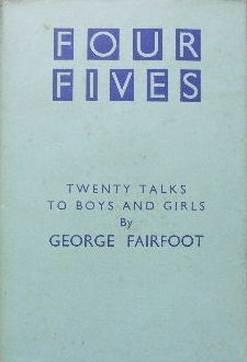 Image for Four Fives  Twenty talks to boys and girls
