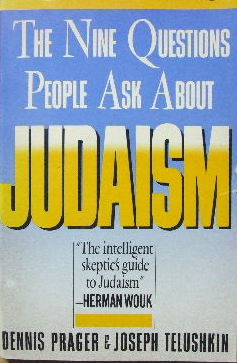 Image for The Nine Questions people ask about Judaism.