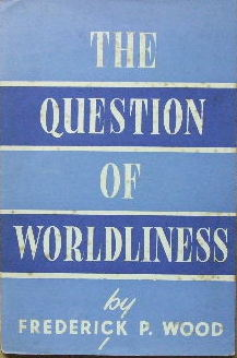 Image for The Question of Worldliness.
