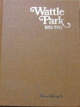 Image for Wattle Park 1882-1982.