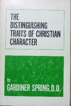 Image for The Distinguishing Traits of Christian Character.