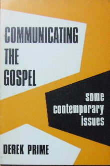 Image for Communicating the Gospel  Some contemporary issues