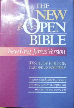Image for The New Open Bible.