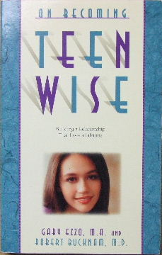 Image for On Becoming Teen Wise  Building a relationship that lasts a lifetime