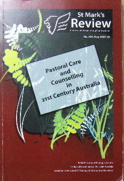 Image for St Mark's Review No. 208, May 2009.  Pastoral Care and Counselling in 21st Century Australia