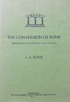 Image for The Conversion of Rome  Ancient sources of modern social tensions