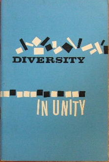 Image for Diversity in Unity  Puritan Papers, 1963
