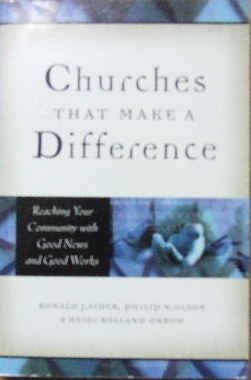 Image for Churches that make a Difference  Reaching your community with Good News and good works