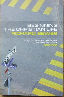Image for Begining the Christian life.