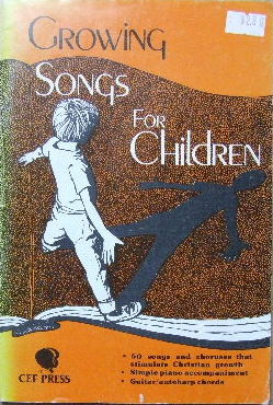 Image for Growing Songs for Children.