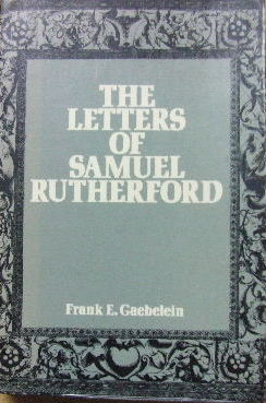 Image for The Letters of Samuel Rutherford.