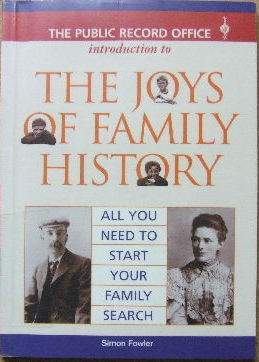 Image for The Public Record Office Introduction to The Joys of Family History  All You Need To Start Your Family Search