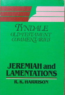 Image for Jeremiah and Lamentations  Tyndale Old Testament Commentaries