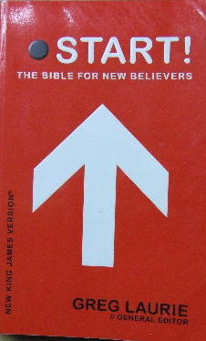 Image for Start! The Bible for new believers  (ed. Greg Laurie)