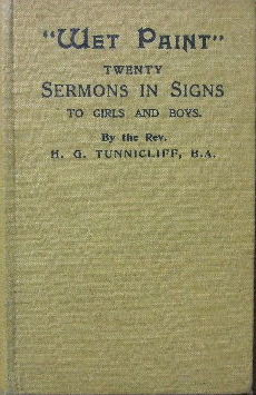 Image for Wet Paint - twenty sermons in signs to girls and boys.