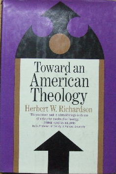 Image for Toward an American Theology.