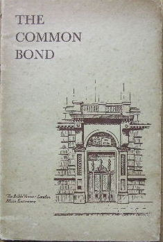 Image for The Common Bond.
