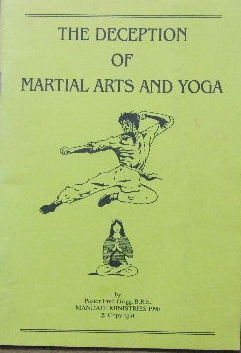 Image for The Deception of Martial Arts and Yoga.