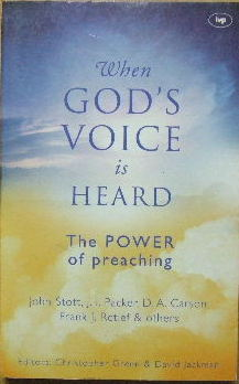Image for When God's Voice Is Heard  The Power of preaching