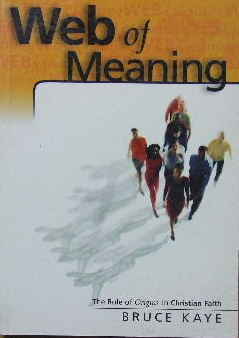 Image for Web of Meaning  The Role of Origins in Christian Faith