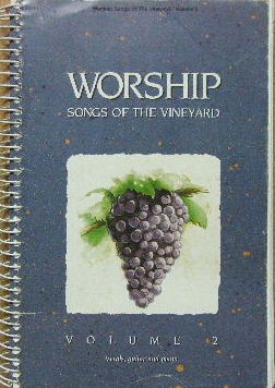 Image for Worship Songs of the Vineyard.