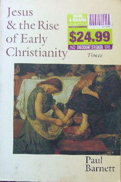 Image for Jesus & the Rise of Early Christianity  A History of New Testament Times