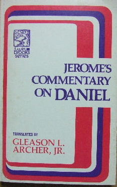Image for Jerome's Commentary on Daniel.