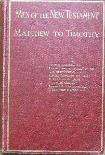 Image for Men of the New Testament : Matthew to Timothy.