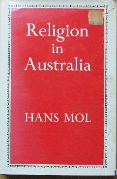 Image for Religion in Australia  A Sociological Investigation
