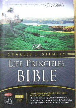 Image for The Charles F Stanley Life Principles Bible.