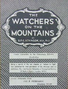 Image for The Watchers on the Mountains.