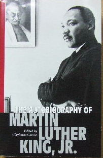 Image for The Autobiography of Martin Luther King Jr.  (ed. by Clayborne Carson)
