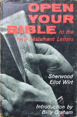 Image for Open Your Bible to The New Testament Letters.