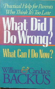 Image for What did I do wrong? What can I do now?  Practical help for parents who think it's too late