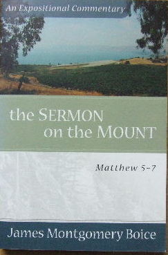 Image for The Sermon on the Mount : an Expositional Commentary.