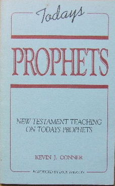 Image for Today's Prophets  New Testament teaching on today's prophets
